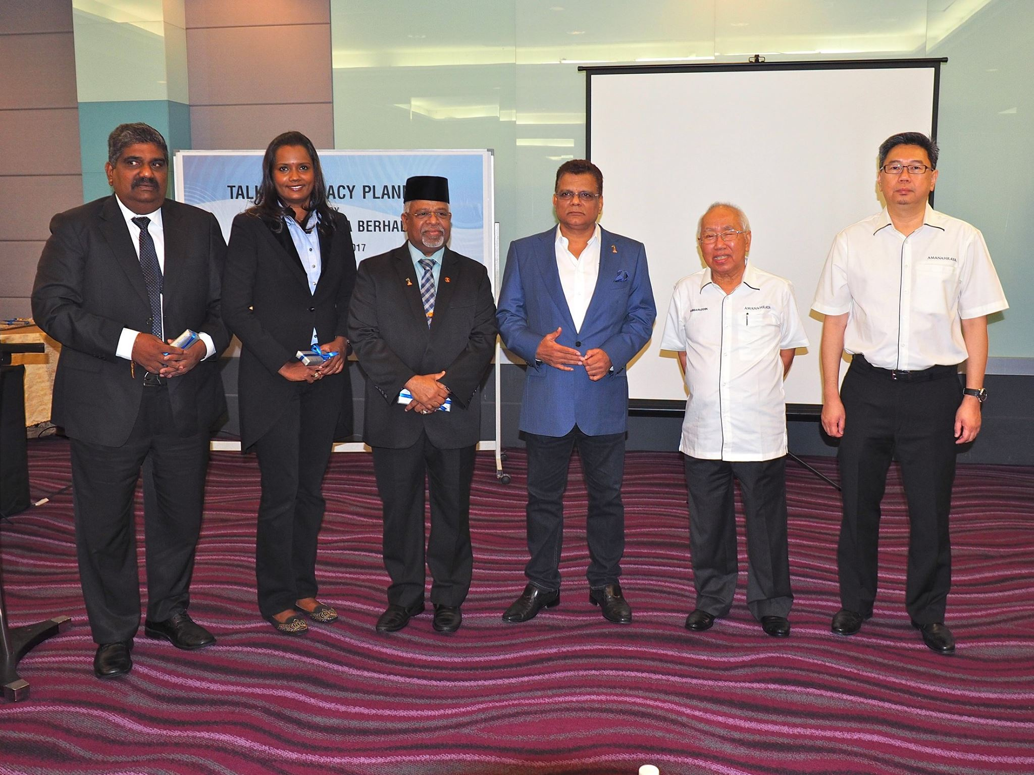 The briefing session was held on March 4, 2017 in Kuala Lumpur Deluxe Hotel. The briefing was held to raise awareness and understanding about inheritance.