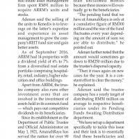 AmanahRaya aims RM50m distribution yearly