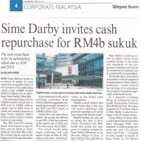 Sime Darby invites cash repurchase for RM4b sukuk