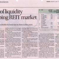 Lack of liquidity crimping REIT market